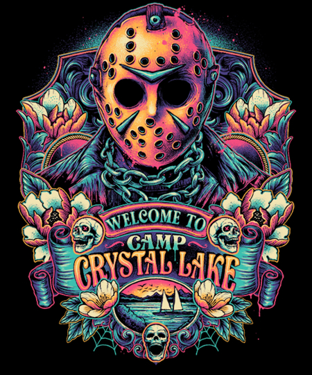 Qwertee: Welcome to the Camp