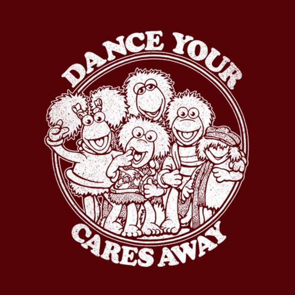 Five Finger Tees: Dance Your Cares Away T-Shirt
