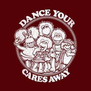 Five Finger Tees: Dance Your Cares Away T-Shirt
