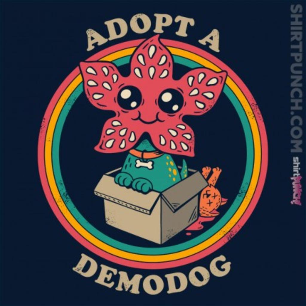 ShirtPunch: Adopt a Demodog