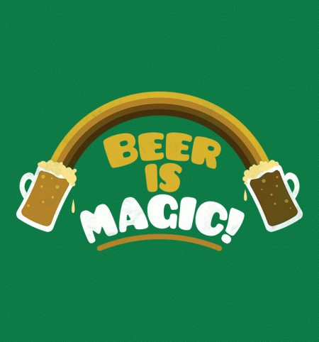 BustedTees: Beer Is Magic