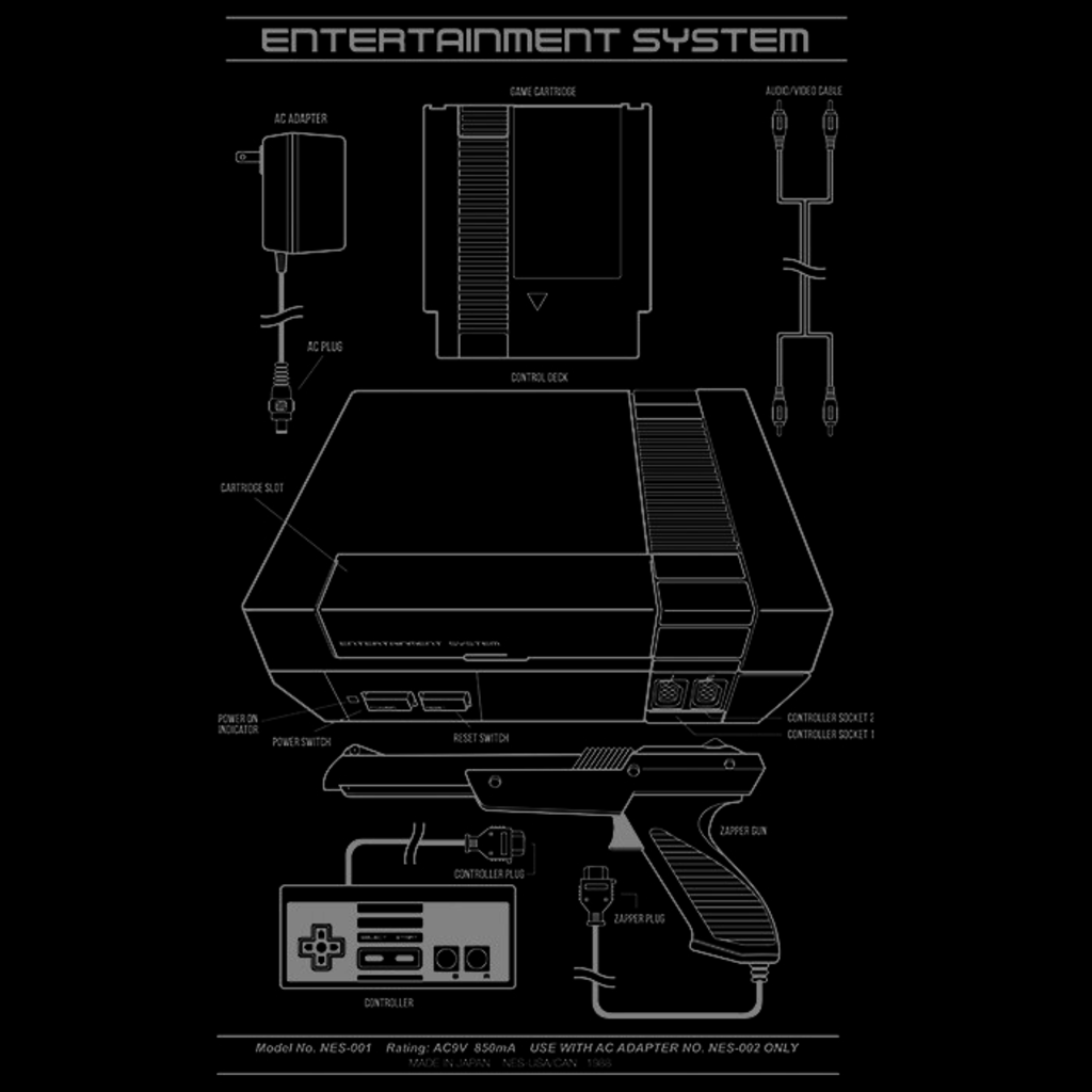 We Heart Geeks: Entertainment System