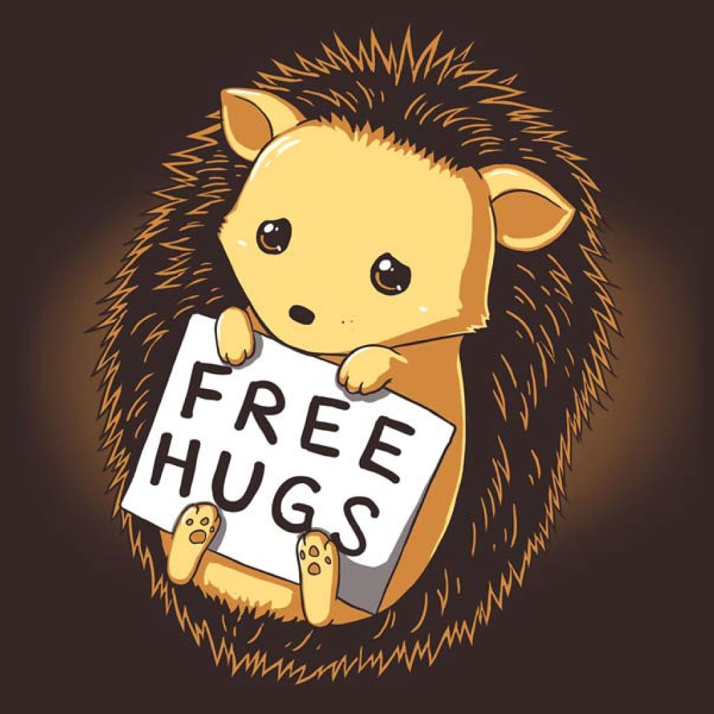 TeeTee: Free Hugs for All!