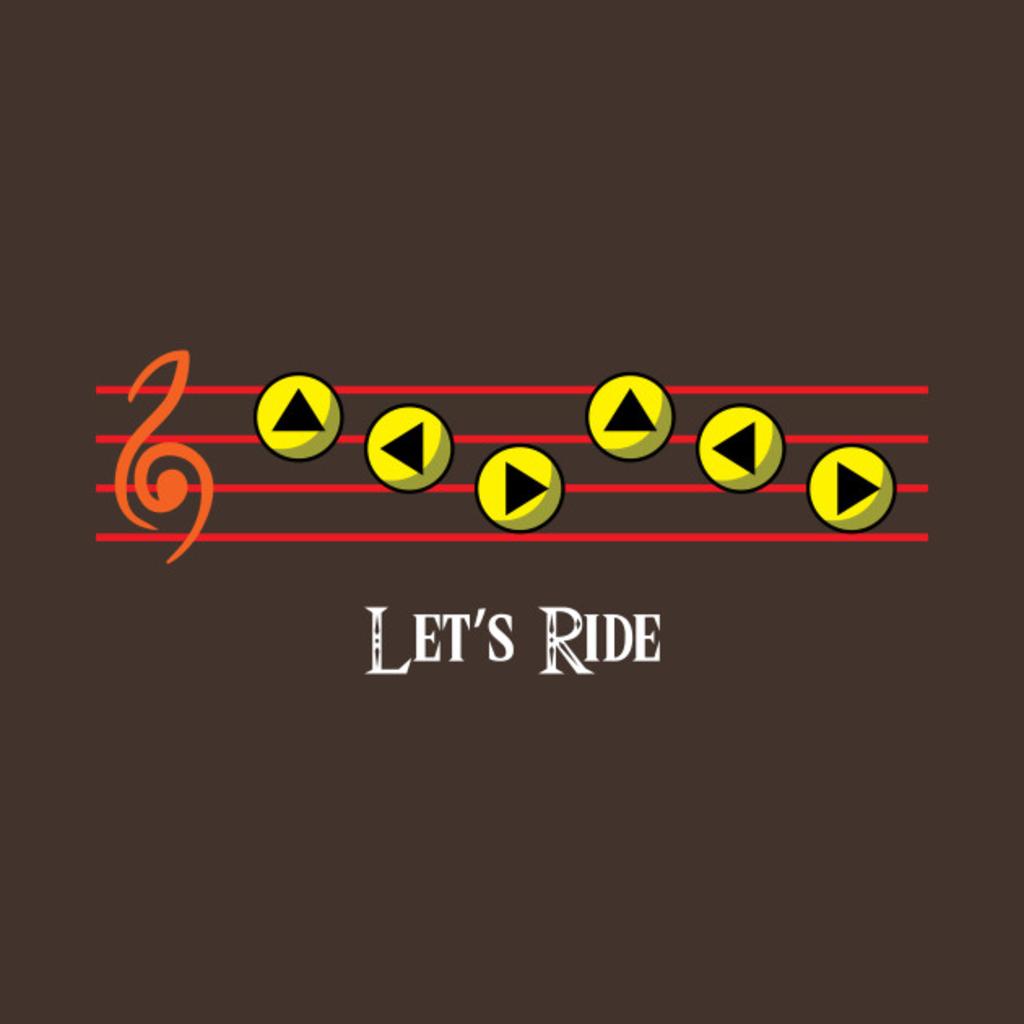 TeePublic: Let's Ride