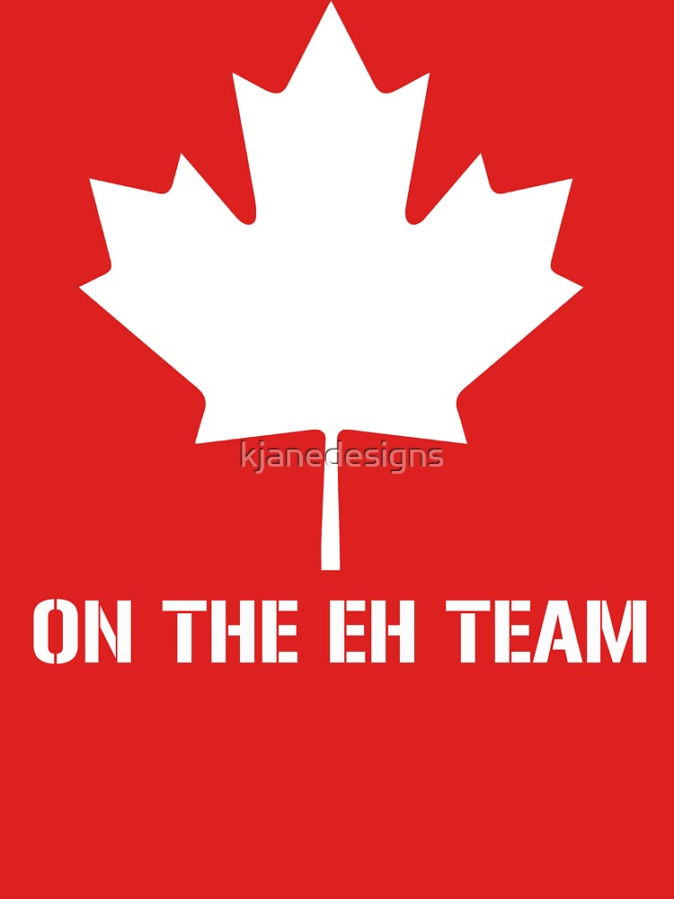 RedBubble: On The Eh Team