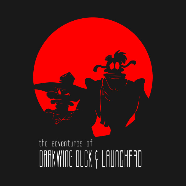 TeePublic: Darkwing & Launchpad
