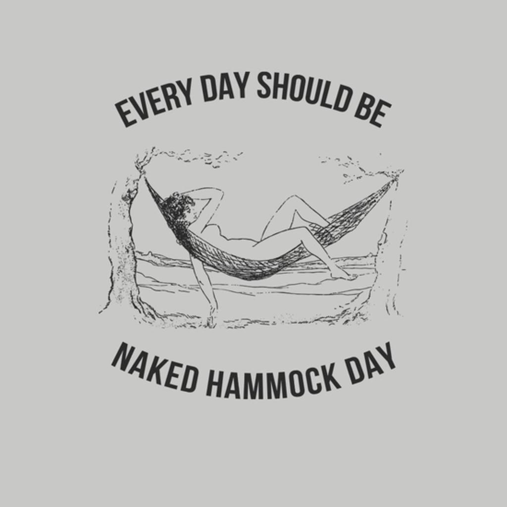 BustedTees: Naked Hammock Day