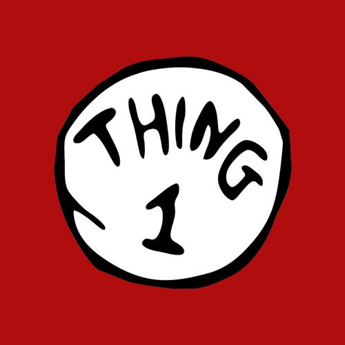 Five Finger Tees: Thing 1 T-Shirt