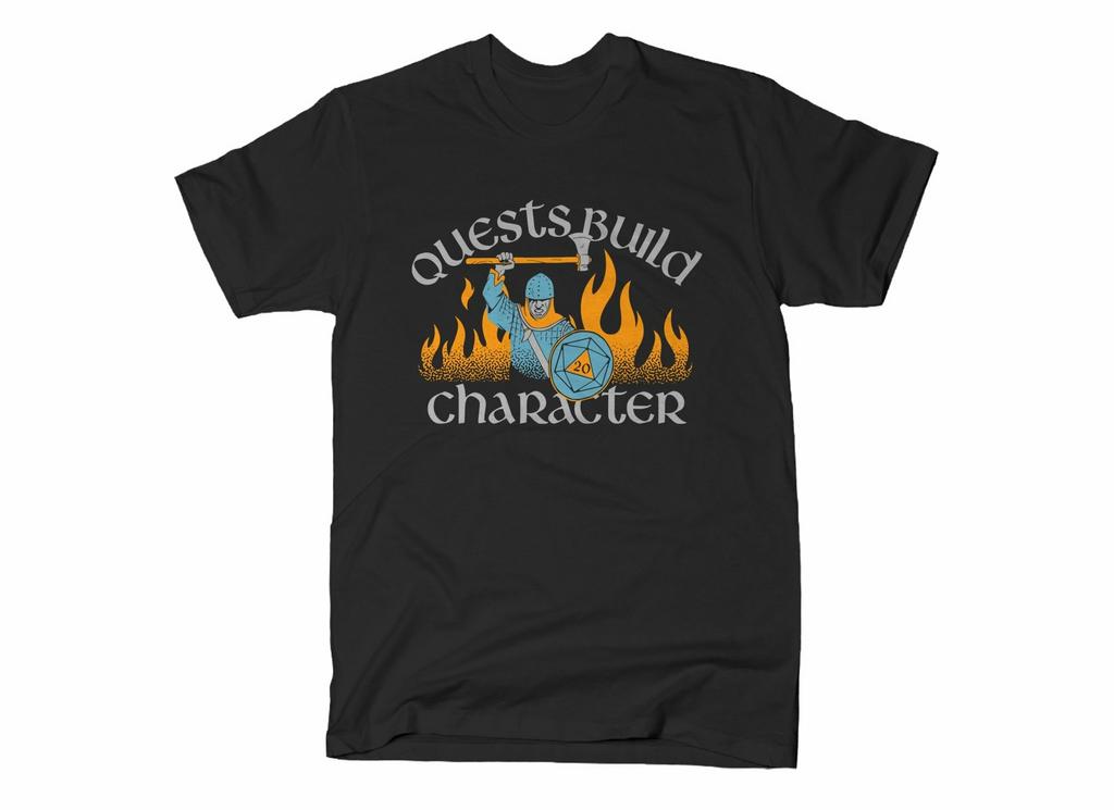 SnorgTees: Quests Build Character
