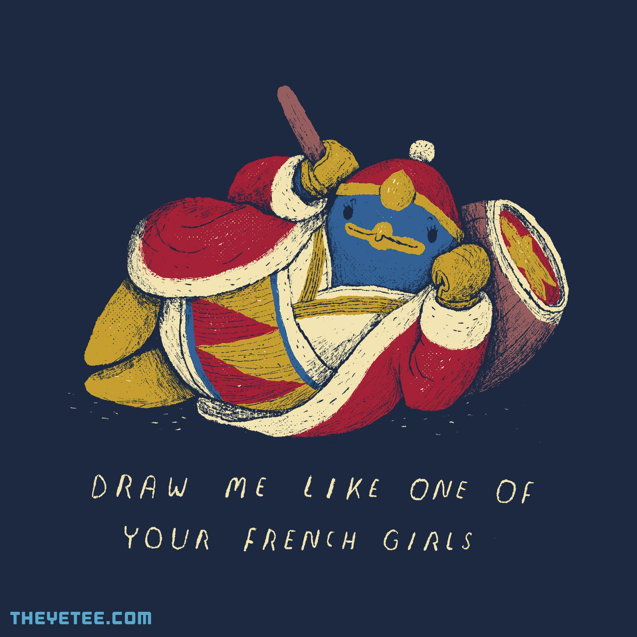 The Yetee: a french penguin.