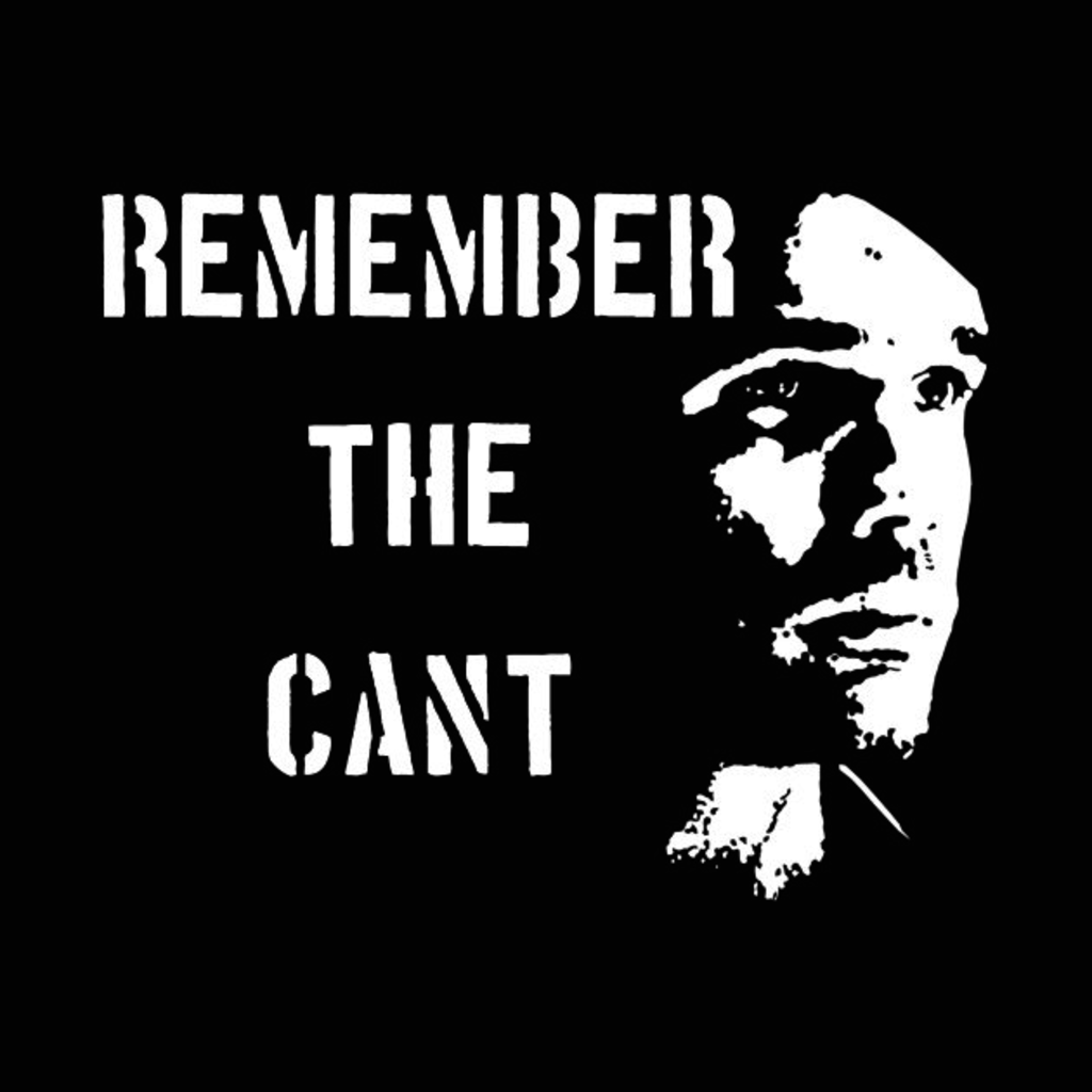 TeePublic: Remember the Cant (Ganymede) T-Shirt