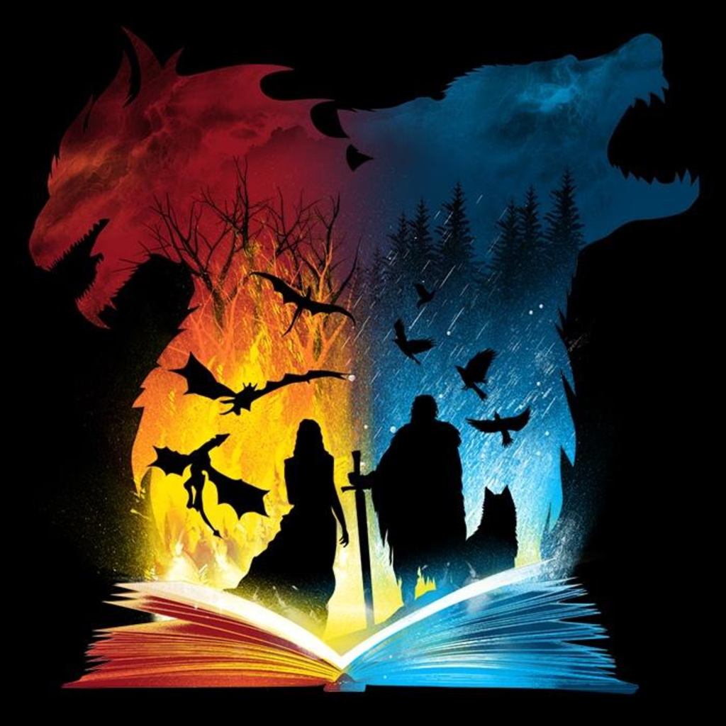 Once Upon a Tee: Book of Fire and Ice