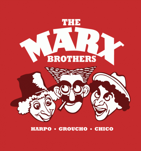 BustedTees: The Marx Brothers