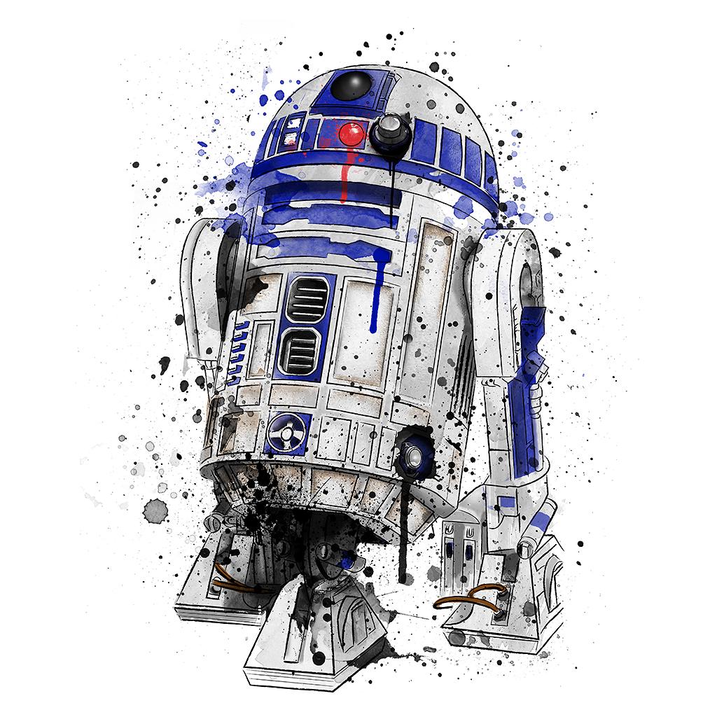 TeeTee: Droid Watercolor