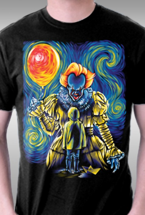 TeeFury: We All Float Up There