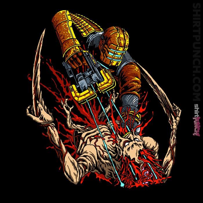 ShirtPunch: Necro Space