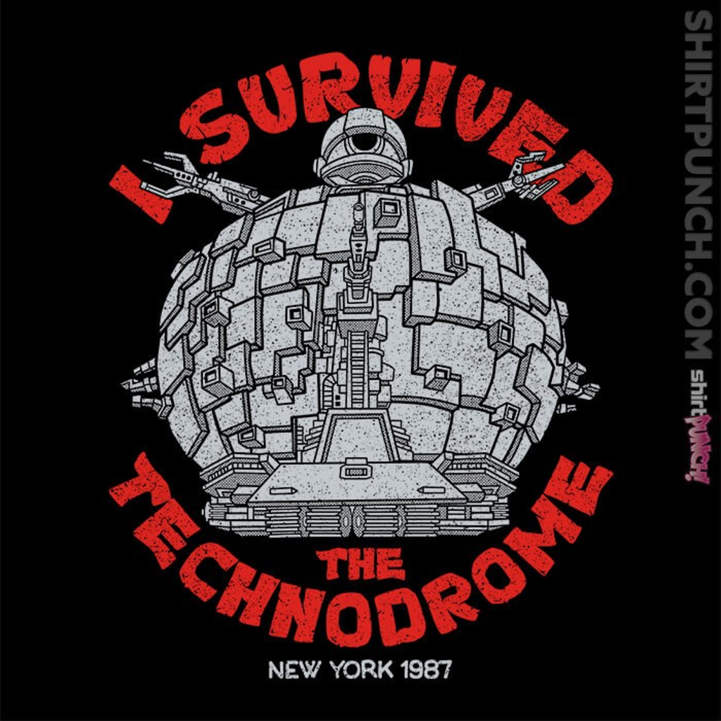ShirtPunch: Technodrome Survivor