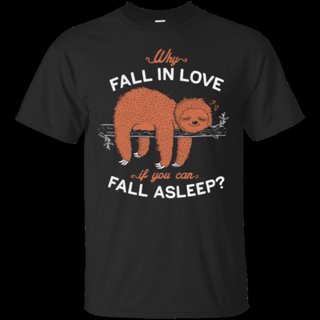 Pop-Up Tee: Fall Asleep