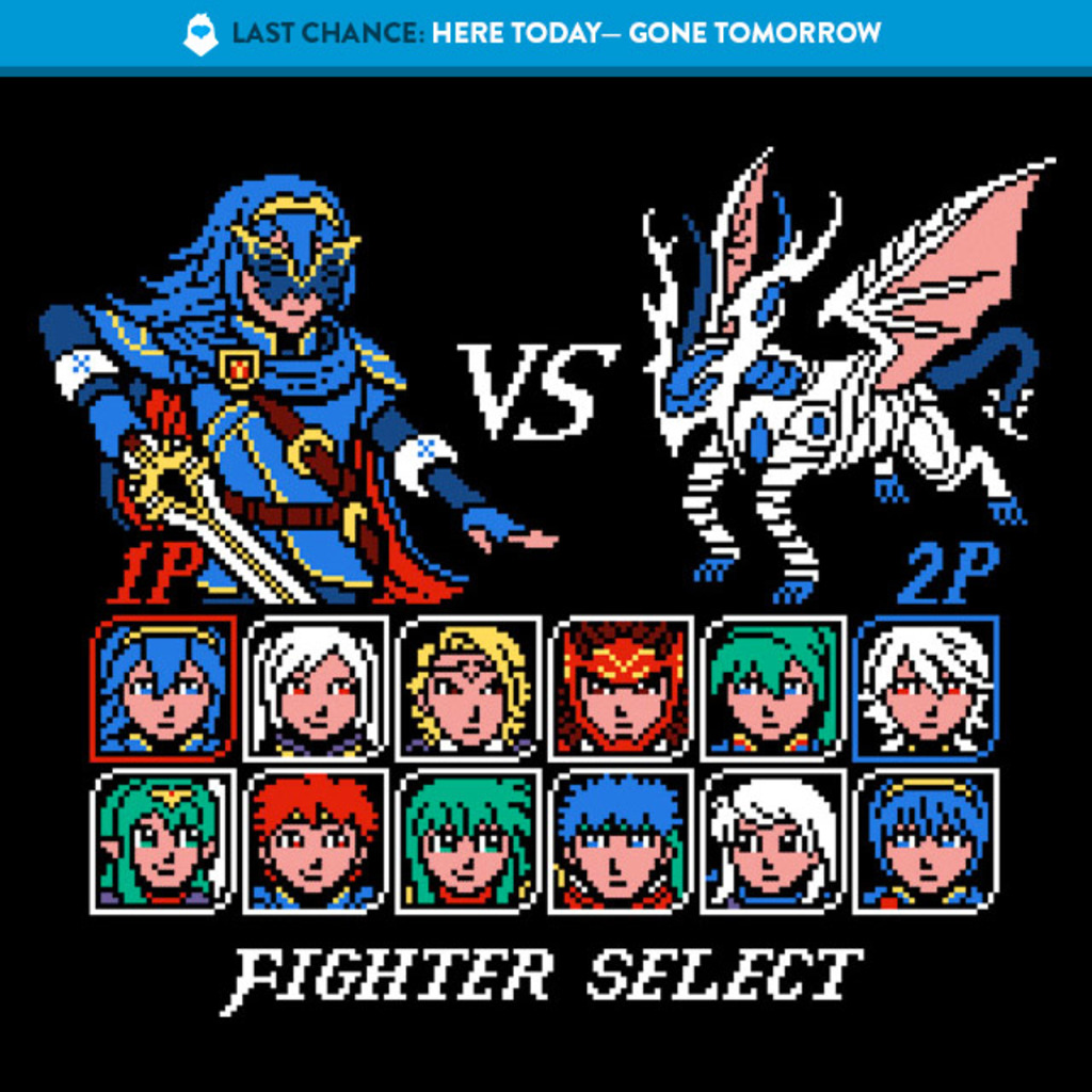 The Yetee: LAST CHANCE: Fighter Emblem
