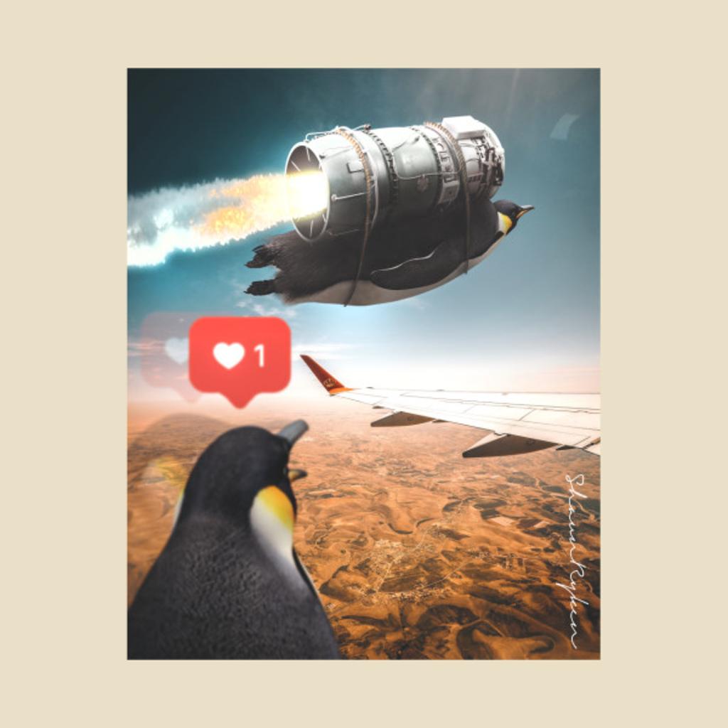 TeePublic: Penguin .4