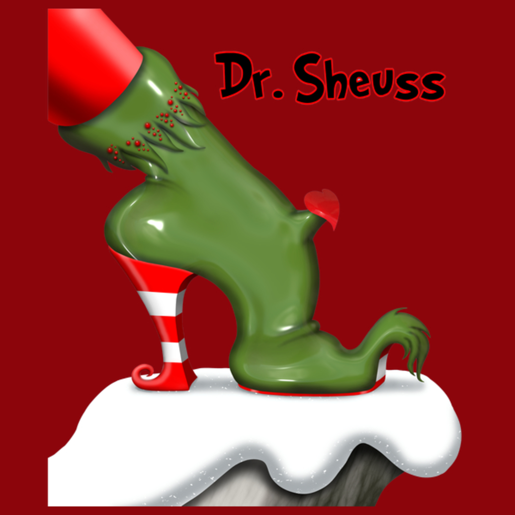 NeatoShop: Dreaming of a Green Christmas Shoe