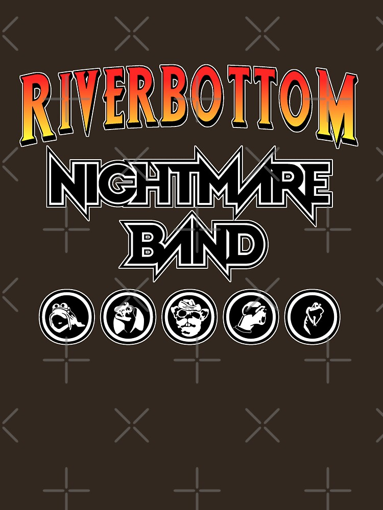 RedBubble: Riverbottom Nightmare Band