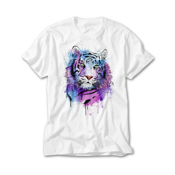 OtherTees: Tiger Watercolor