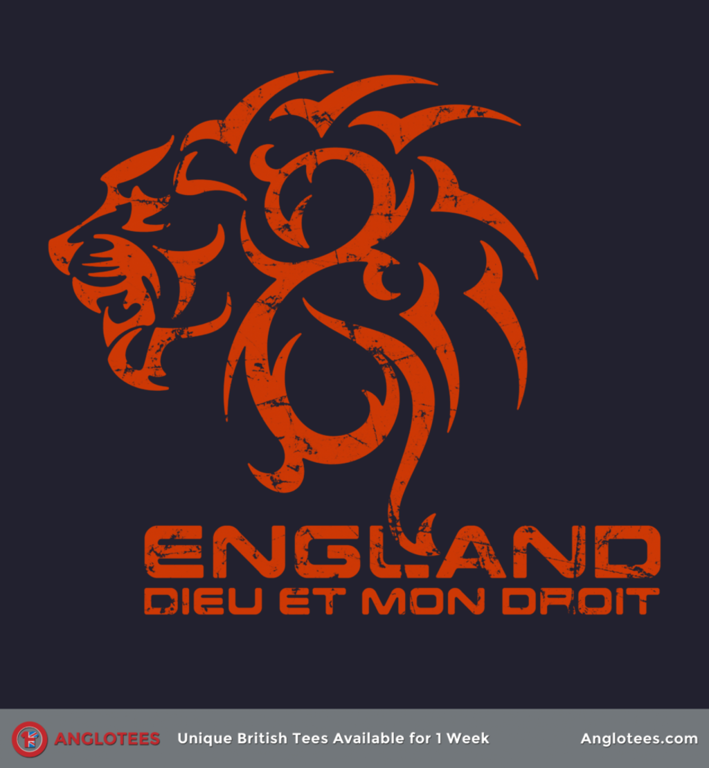 Anglotees: English Lion