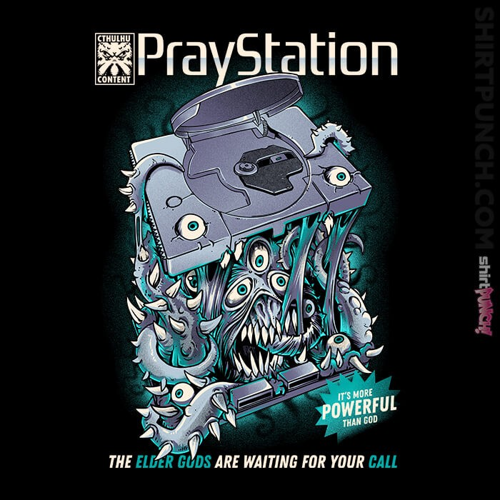 ShirtPunch: The Praystation