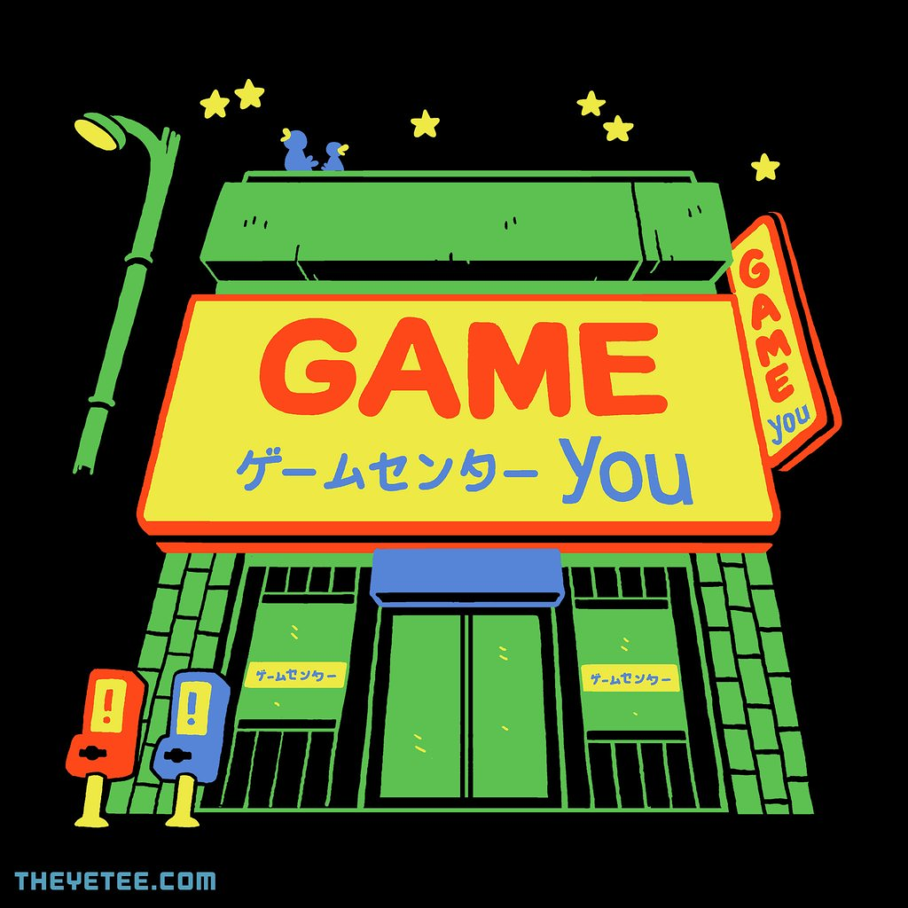 The Yetee: You Arcade