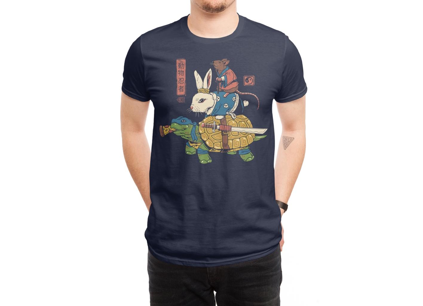 Threadless: Kame, Usagi and Ratto Ninjas
