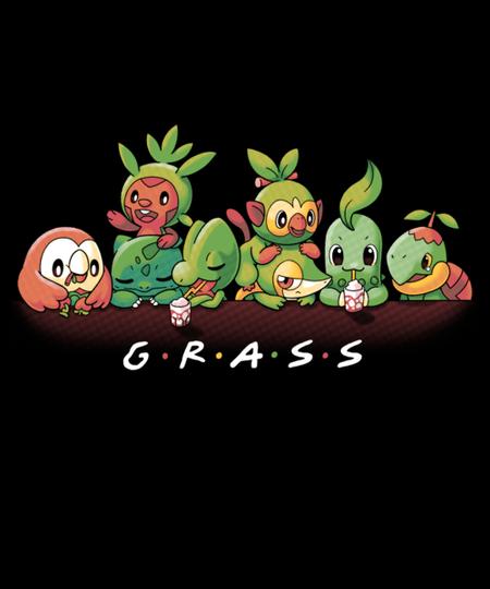 Qwertee: Grass
