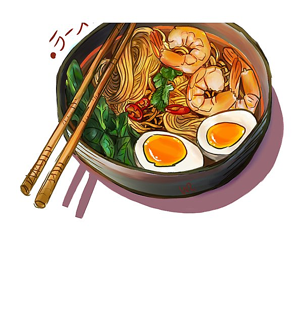 RedBubble: Japanses Ramen Noodles Bowl