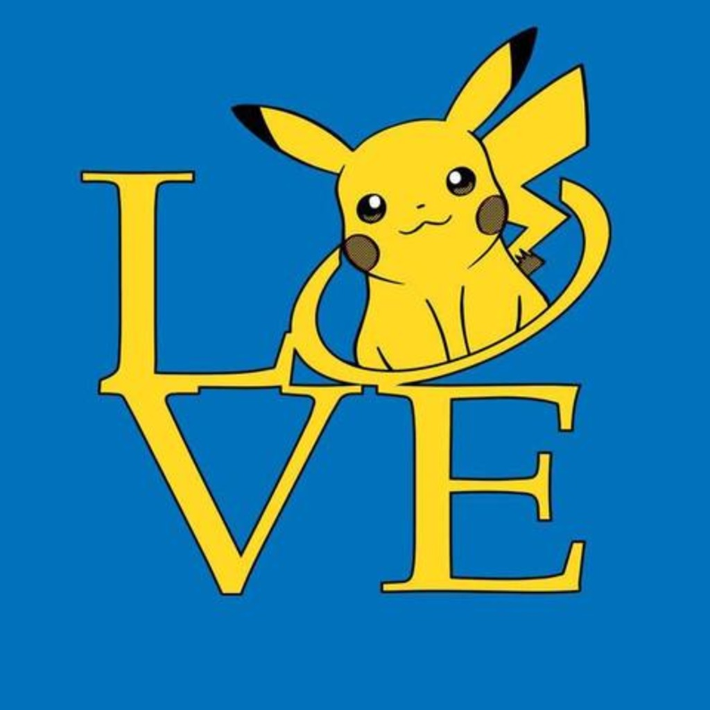 FandomShirts: Pika Love