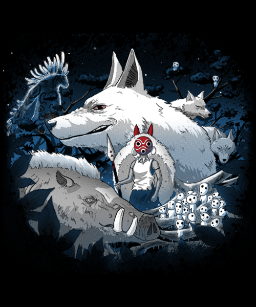 Qwertee: Welcome to the forest