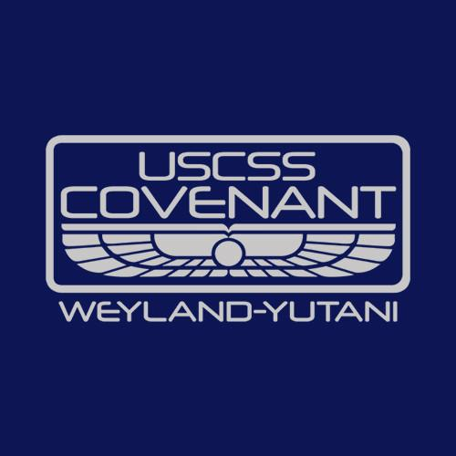Five Finger Tees: USCSS Covenant T-Shirt