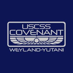 Five Finger Tees: USCSS Covenant T-Shirt