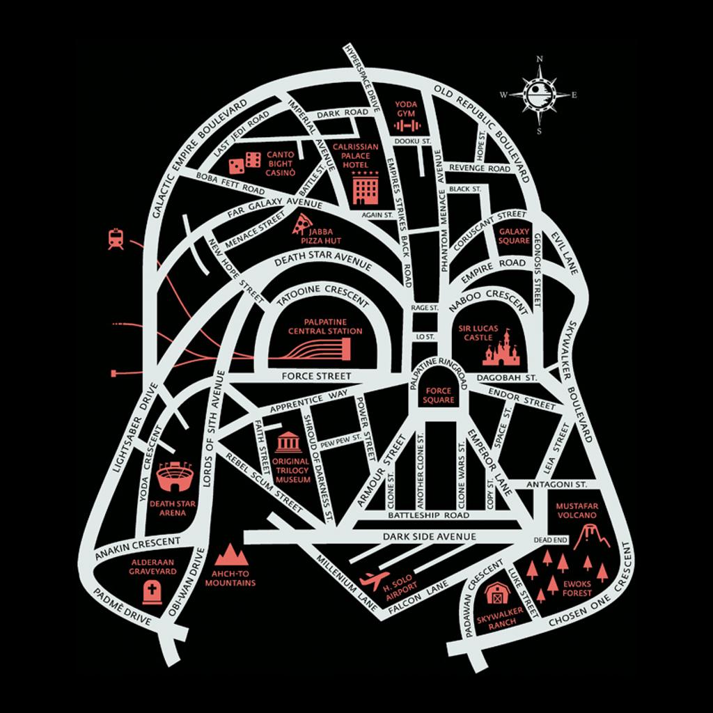 Pampling: Darth City Map