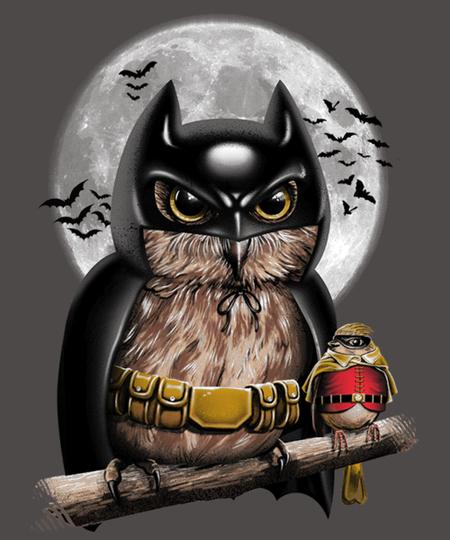 Qwertee: Knight Owl