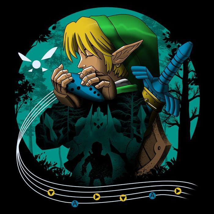 Once Upon a Tee: Hyrule Time Traveler