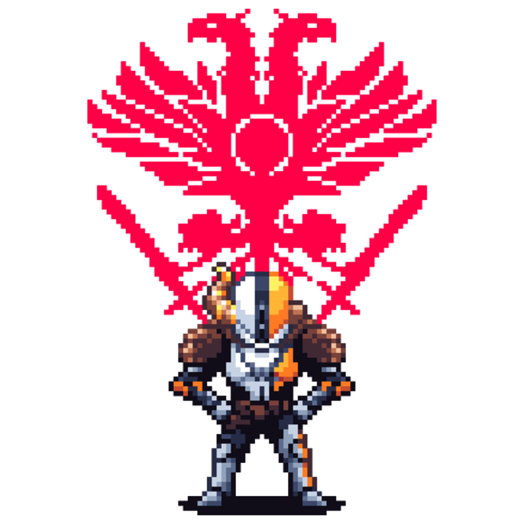 NeatoShop: Destiny Lord Shaxx Pixel Art