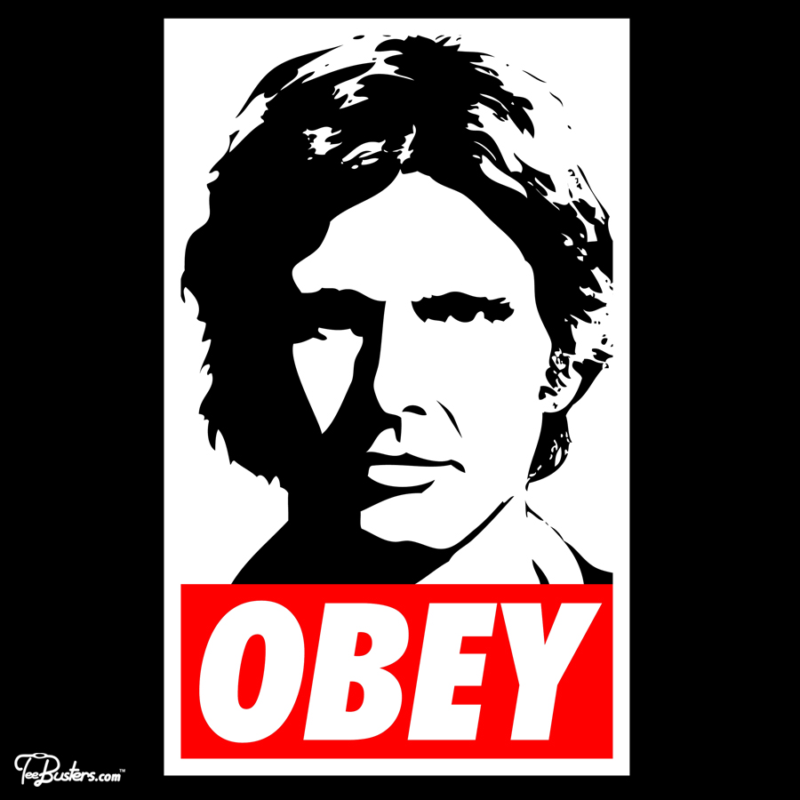 TeeBusters: Obey Han Solo