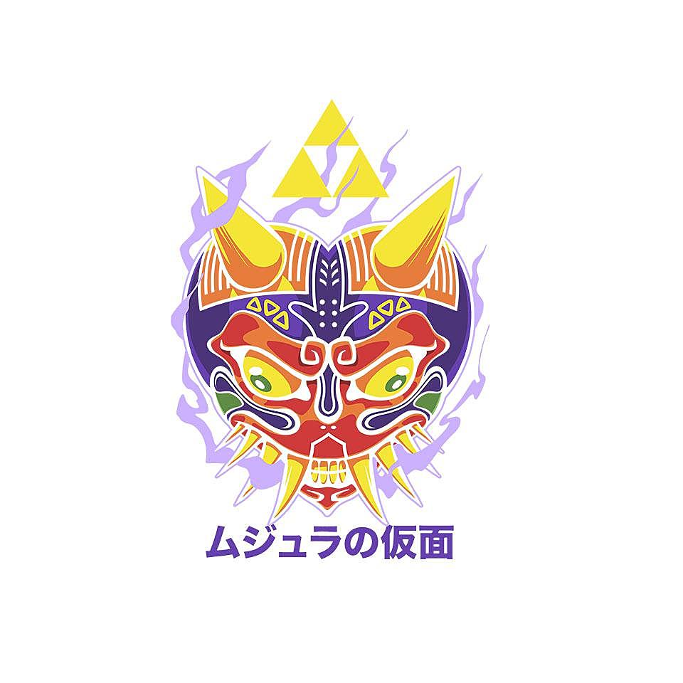 TeeFury: Majora's Oni Mask