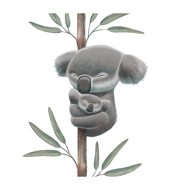RedBubble: Sleeping koalas (Bushfire Emergency Wildlife Fund)
