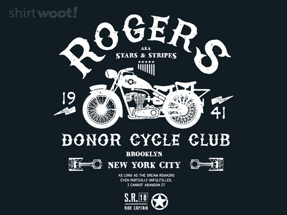 Woot!: Donor Cycle Club - $8.00 + $5 standard shipping