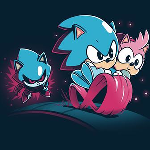 TeeTurtle: Sonic CD Shirt