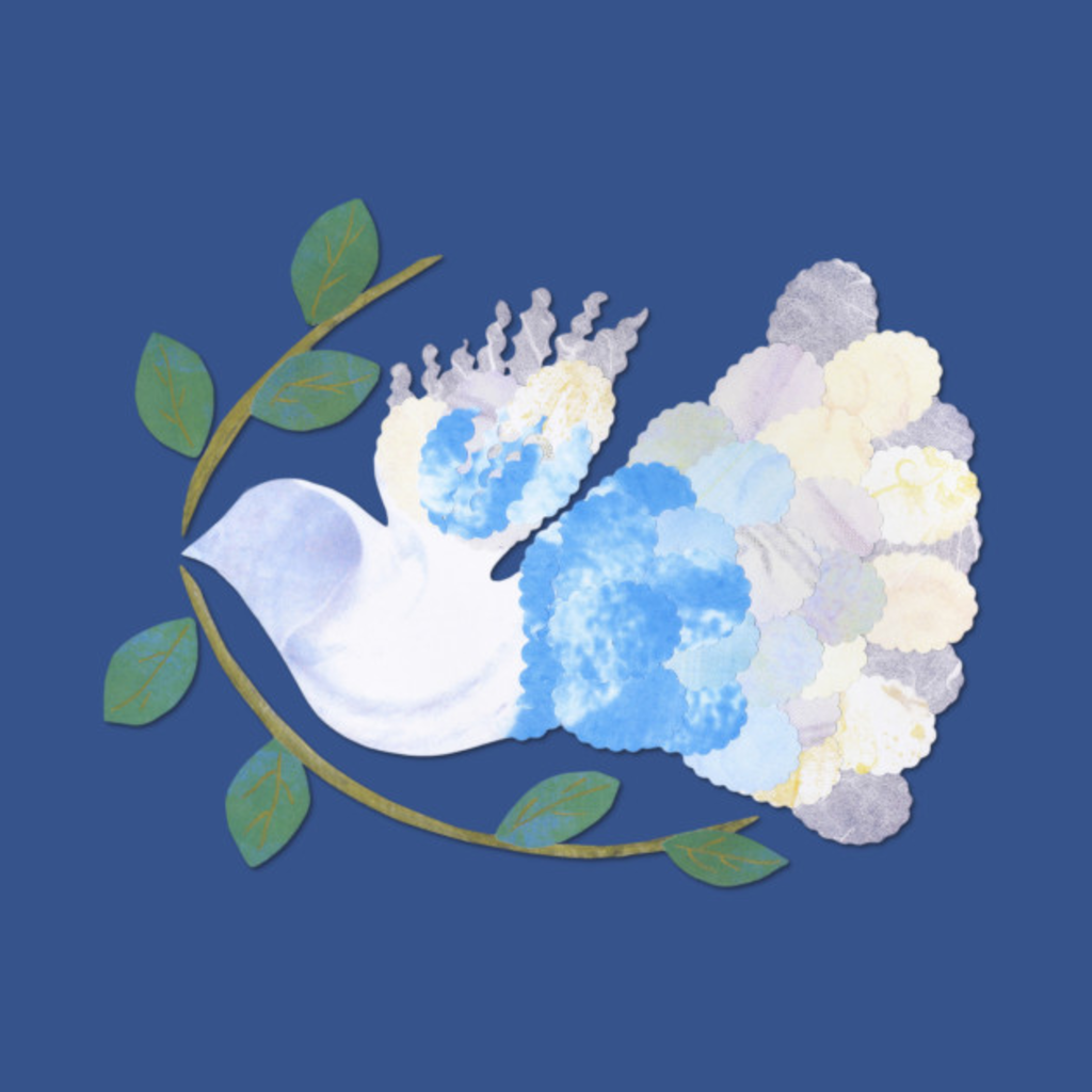 TeePublic: Peace Spirit Dove