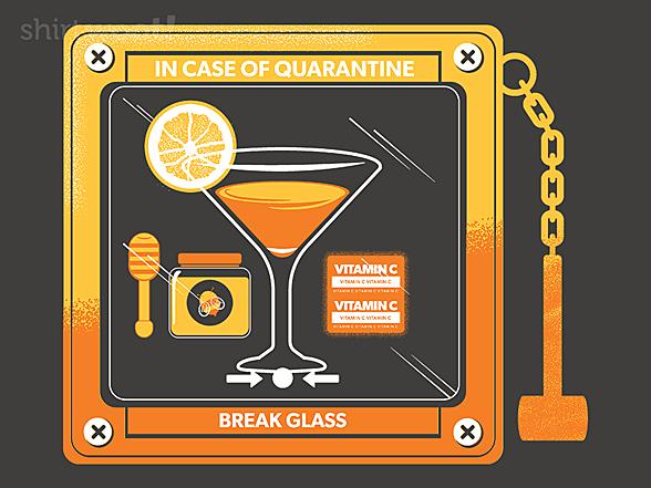 Woot!: In Case of Quarantine, Bring the Quarantini
