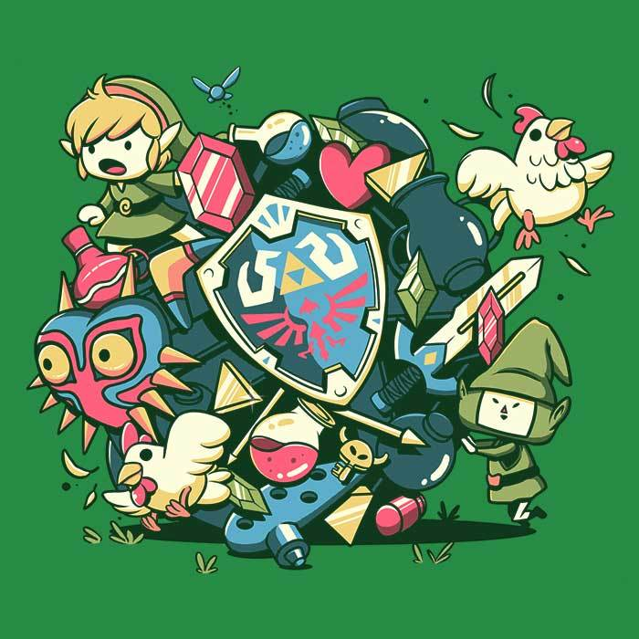 Once Upon a Tee: Let's Roll Link