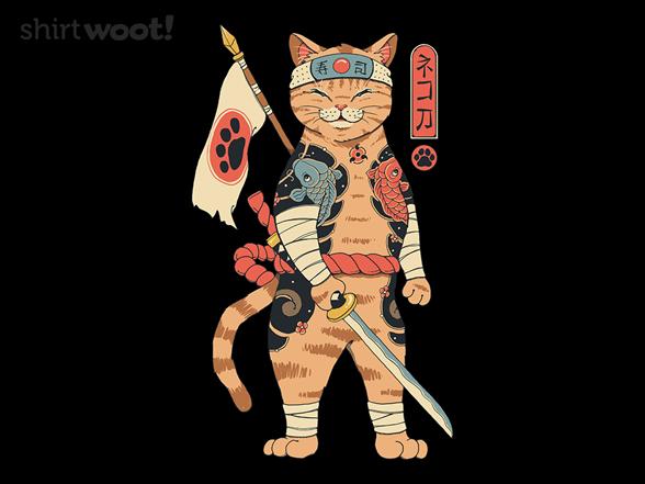 Woot!: Feline Shogun